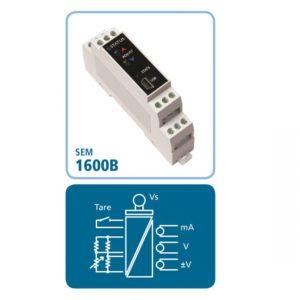 DIN-Schienen-Messumformer SEM1600B für Messbrücken