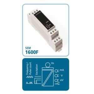 DIN-Schienen-Messumformer SEM1600F für Frequenz- und Pulssignale