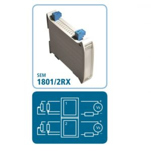 DIN-Schienen-Messumformer SEM1801/2RX