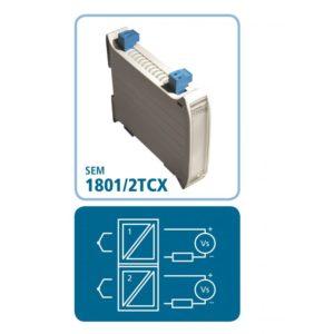 DIN-Schienen-Messumformer SEM1801/2TCX