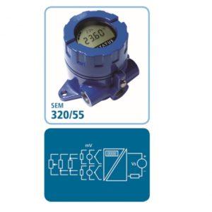 Messumformer SEM320/55 mit Anzeige